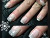 Glitter Fade Gel Nails