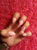 Pink Almond & Cross