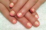 Peach to Pink ombre