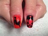 Halloween nail art Thumbs!!