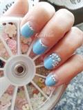 Simple Gyaru-inspired Nails