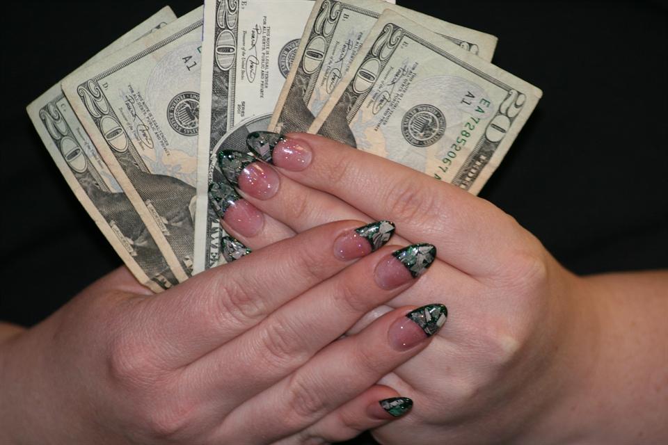 Money Money Money Nail Art Gallery
