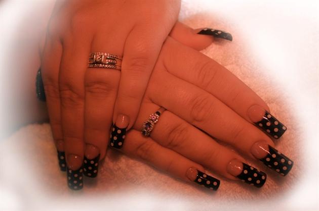 Heathers' polka-dots