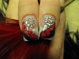 Sarah's prom nails