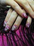 Sarah W's prom nails