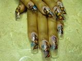 Alisha's cruise nails 2