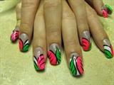 Sarah's nail art