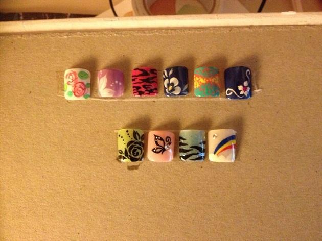 Nail art for kids ;)