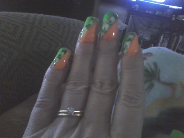 St.Patty's day nail art