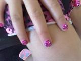 jr princess pink/black zebra