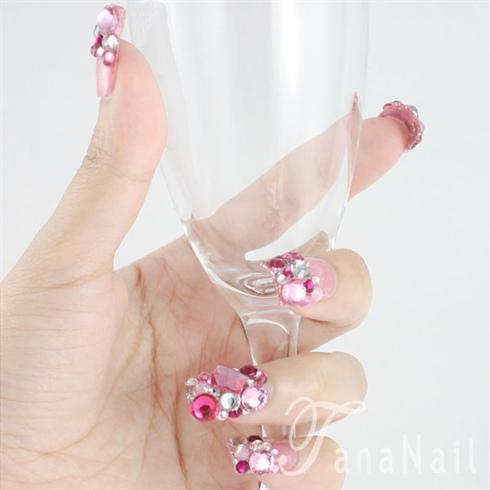 Japanese nail art - Angel's Tears