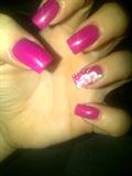 Pink One Stroke
