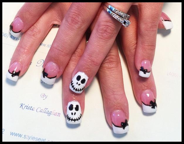 Jack The Skeleton - Nail Art Gallery