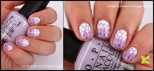 5 Pieces Wood Handle Dot Nail Art Paint