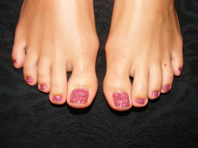 Shellac rockstar toenails