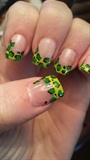 Green with envy for leopard!