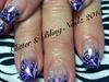 Purple Foil Nailz