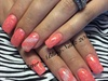 Full Color Coral Nails