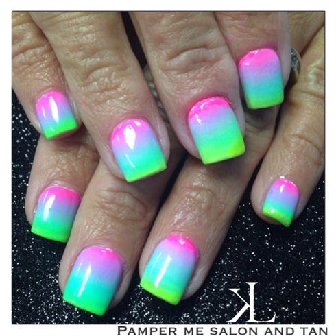 Neon Ombré