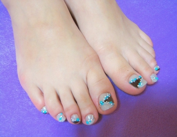 foot gel nail