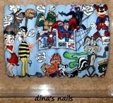 "ibox nail art competition ""comics"""