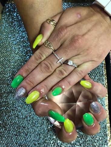 Full Set-Coffin nails
