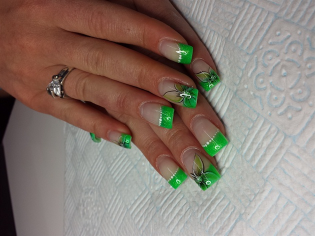 """MOSAIC"" mint green"