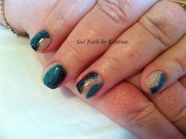 mixed glitters