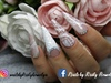 winter wedding nail art