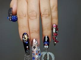 nail art: NTNA S6 2. pre-challenge Wanderlust