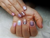 unicorn gel polish on short nails