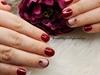 mini french shellac nails