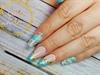 Disney's Jasmine inspired nails