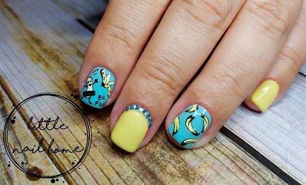 be free banana nails