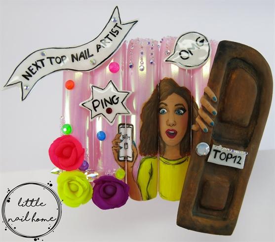 My NTNA Top12 nail art