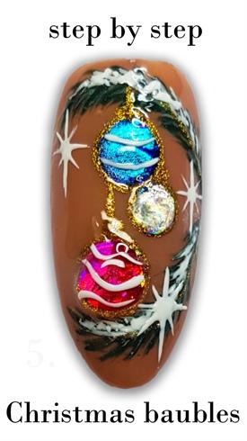 Christmas tree ornament sbs