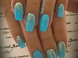 nail art: Kronic Colours Nail Design