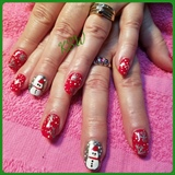 Nail Art Gallery Snowman Photos
