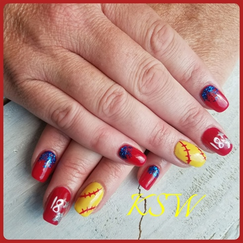 Softball nails 17