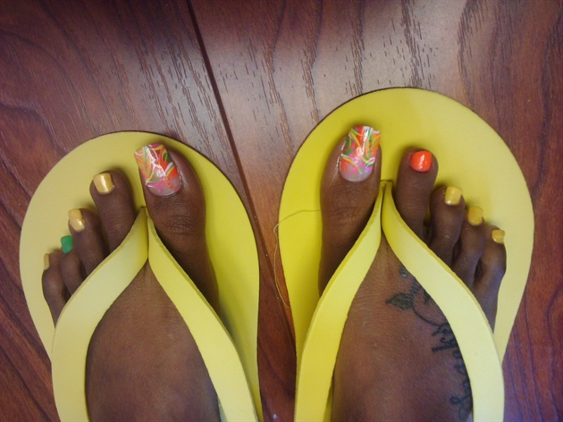 marbled feet 2