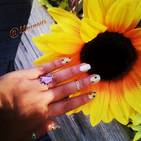 Sunflower Nails 🌻