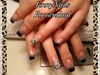 #Acryl #2Colors #Glitter #NailArt