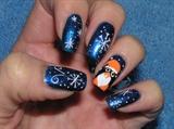 pingwin w sniegu (inspired)