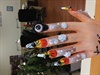 Halloween Nail Display