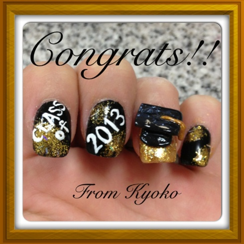 Graduation Nail Nail Art Gallery