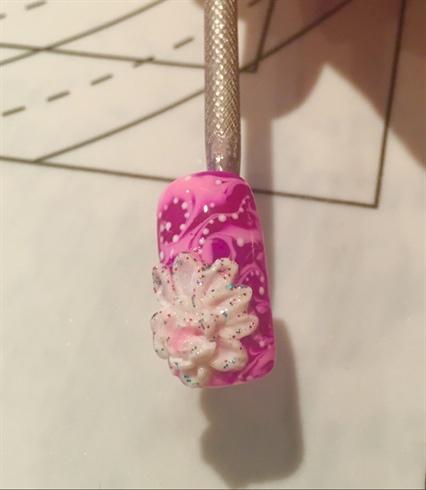 3D Gel Flower