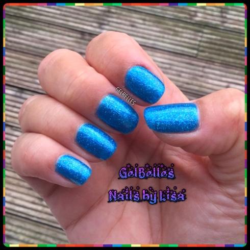 Simple Blue nails