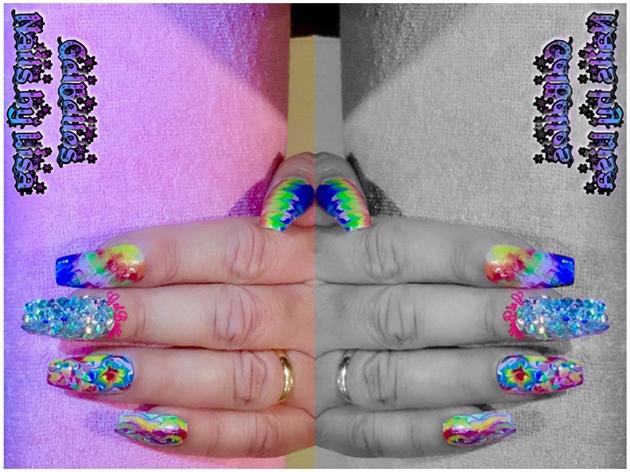 Rainbow 🌈 Nails