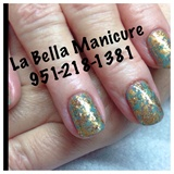 CND Shellac Polish With Foil