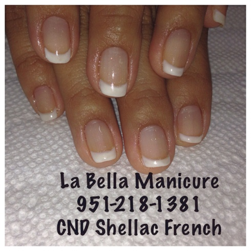 CND Shellac French Polish